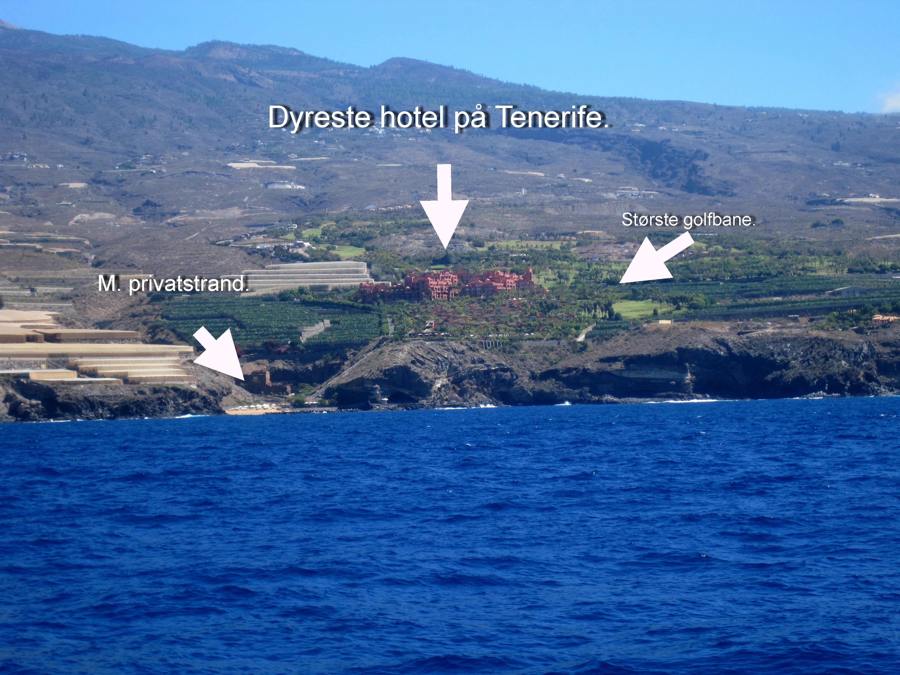 Dyreste hotel på Tenerife.