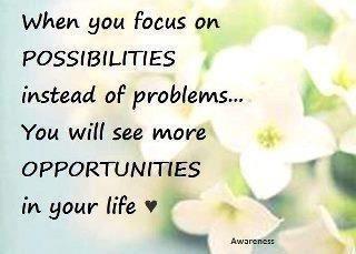 Fokus på muligheder