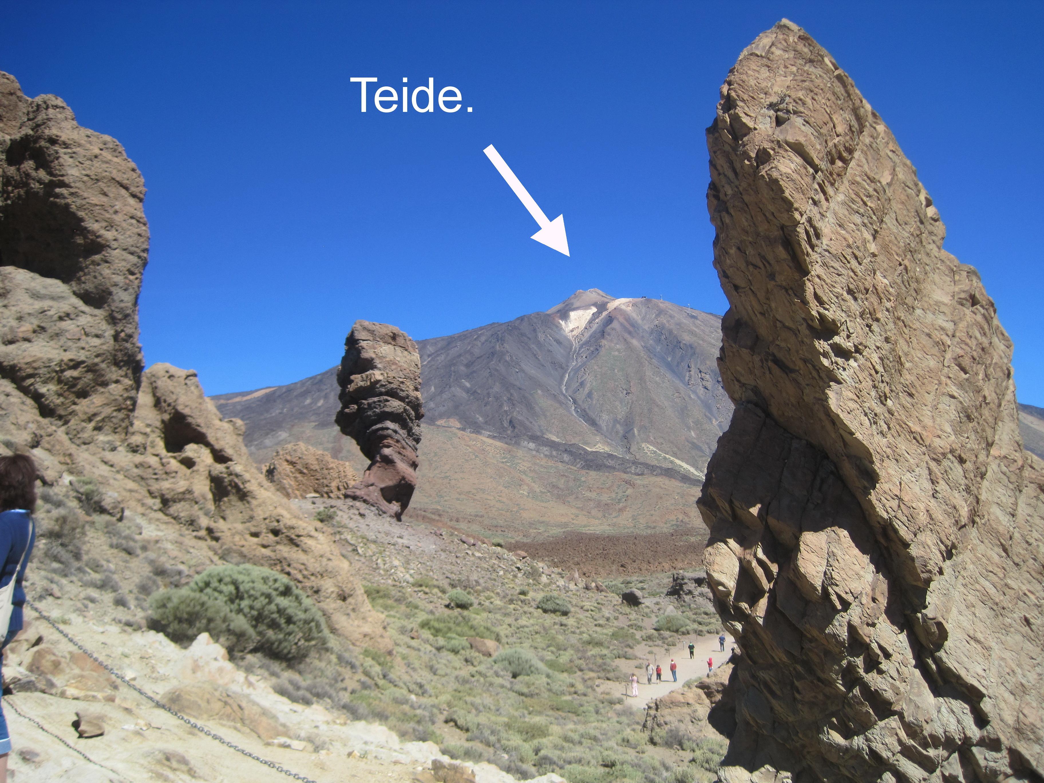 Klipper ved Teide