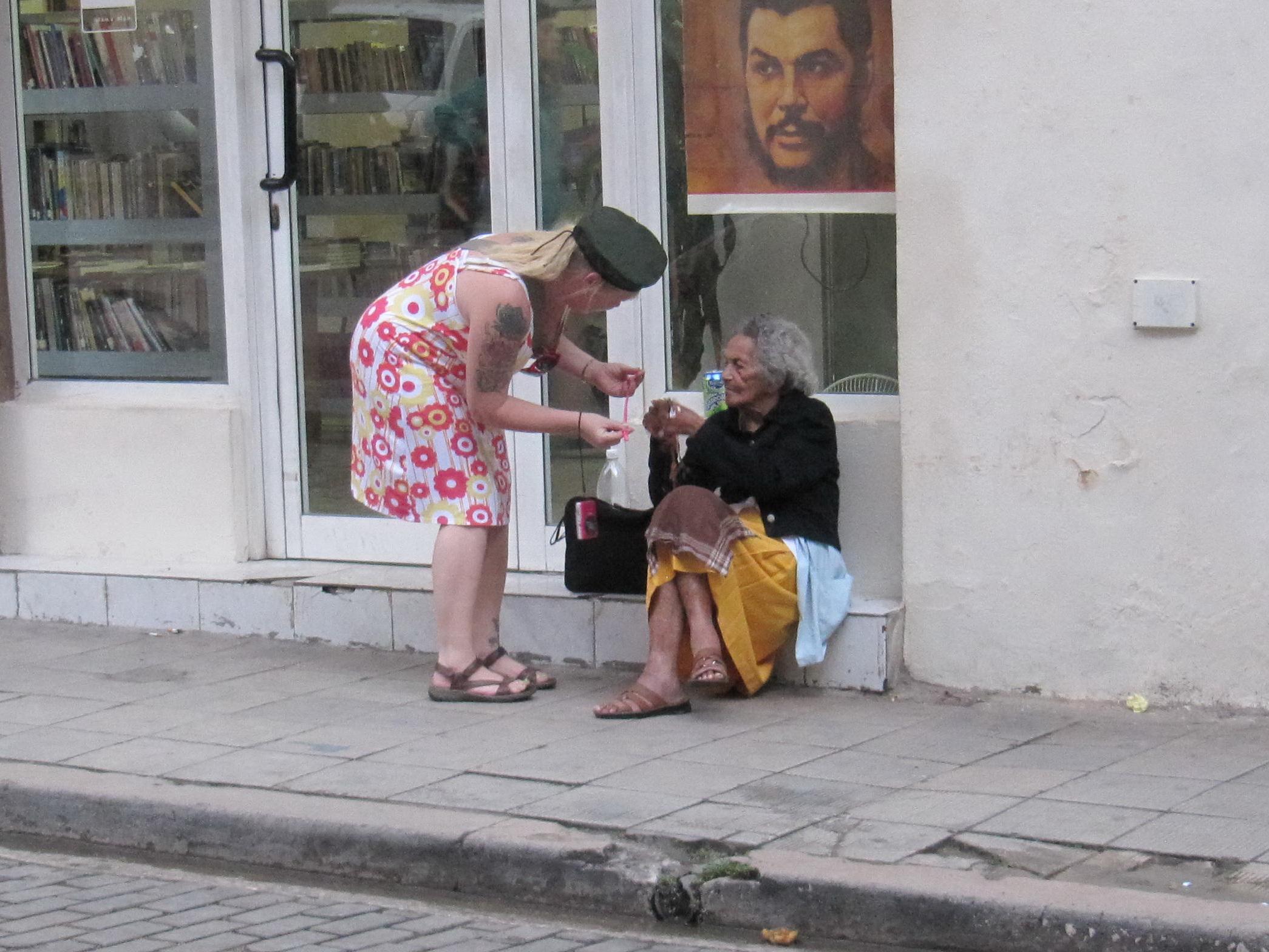 Onsdag gadesælger